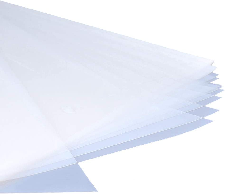 A-SUB Waterproof Inkjet Milky Transparency Positive Film 13X19 Inch 100 Sheets for Screen Printing