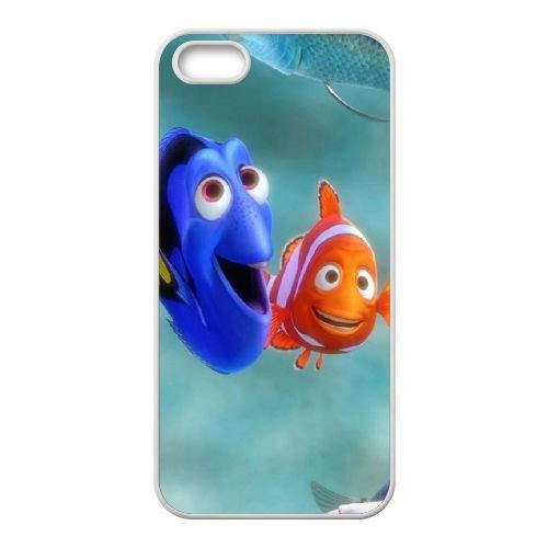 Finding Dory 003 coque iPhone 4 4S Housse Blanc téléphone portable couverture de cas coque EOKXLLNCD10308