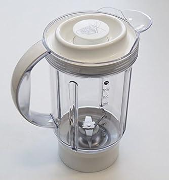 KENWOOD-vaso mezclador de plástico de color blanco para batidoras y batidora KENWOOD/presseagrumes: Amazon.es: Hogar