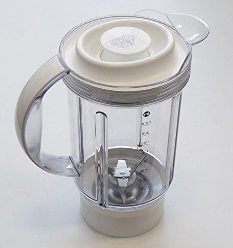 Kenwood – Cuenco de licuadora, de plástico, blanco, para robot ...