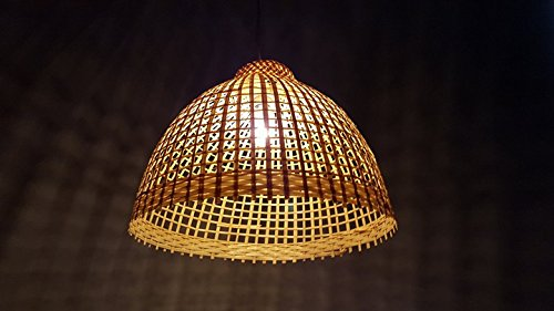 Wooden Pendant Light Fitting