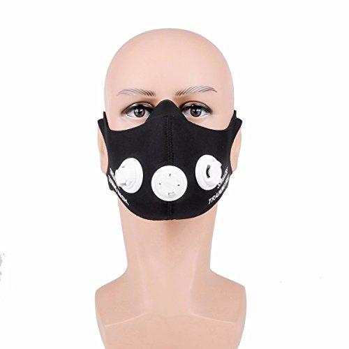 OUTERDO SHIGASTE Training Mask Sport Atemmaske Fitness Masken Für Elevation Training Mask 2.0 Anaerobem Training Höhentraining M