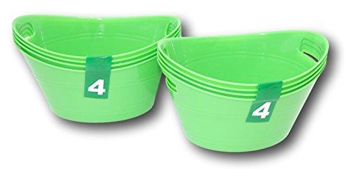 Plastic Green Bowls