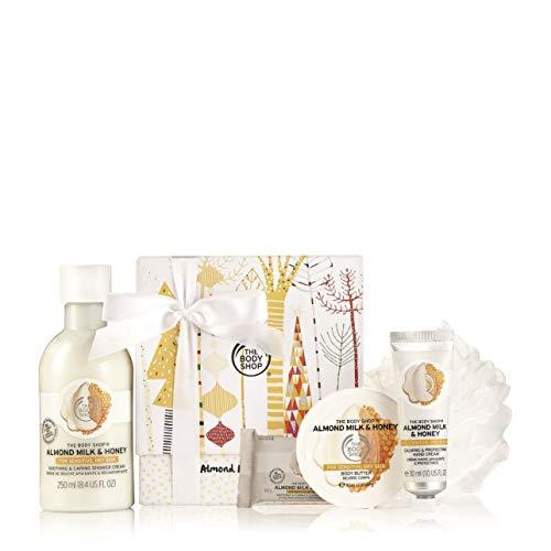 The Body Shop Almond Milk & Honey Festive Picks Gift Set