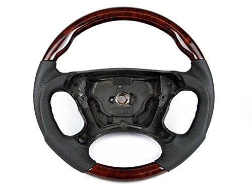 Mercedes W211 W209 R230 Sport Steering Wheel Burl Walnut Wood