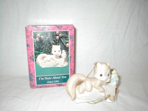 Precious Moments Figurine Christmas Ornament