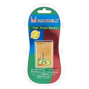 Maxcell Battery For Mobile Phones - BL-4C