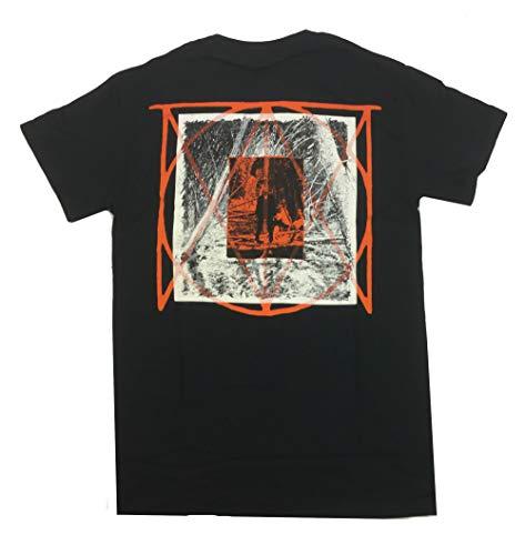 Justin Timberlake Black Shirt - Bravado Justin Timberlake Man of The Woods Logo Short Sleeve T-Shirt-XL Black