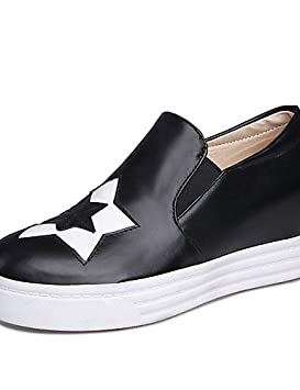 ZQ gyht Zapatos de mujer-Tacón Cuña-Plataforma / Creepers / Punta Redonda-