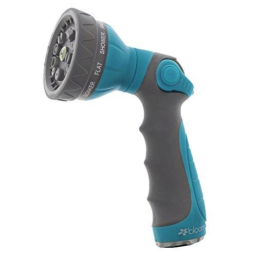 Bloom Garden Hose Spray Nozzle - 10 Adjustable Spray Patt...