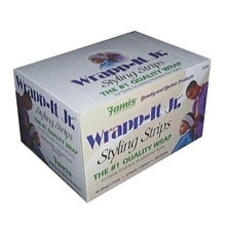 - Wrapp-It Jr. Styling Strips White 40 Count Pack by Graham Professional Beauty