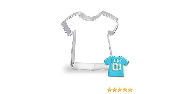 Cdet Moldes para repostería Mousse Anillo de piña Galletas Molde de Galletas Camiseta: Amazon.es: Hogar
