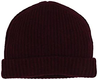 Williams Cashmere Men's 100% Cashmere Solid Knit Hat, Burgundy, One Size (B0085J3MLC) | Amazon price tracker / tracking, Amazon price history charts, Amazon price watches, Amazon price drop alerts