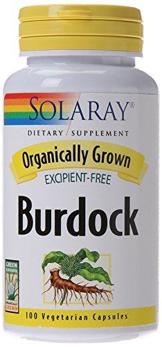 Cheap Solaray Organic Burdock Root Supplement, 485 mg, 100 Count