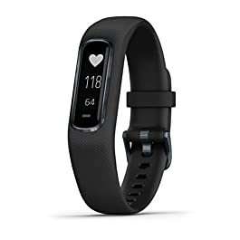Garmin vívosmart 4, Activity and Fitness Tracker w/ Pulse Ox and Heart Rate Monitor
