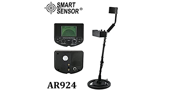Amazon.com : AR924 Underground Metal Detector gold detector digger treasure hunter Professional metal detector price depth 1.5m + Earphone Buzzer : Garden & ...