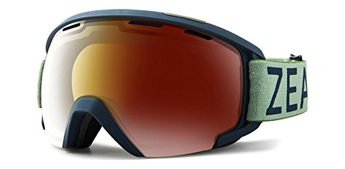 df3b7a13206d Zeal Optics Slate- Over-The-Glass Frame Ski   Snowboard Goggles-Upland  Navy