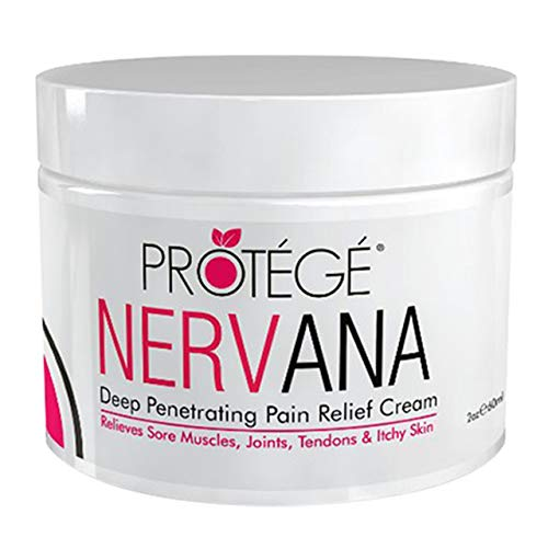 Premium Pain Relief Cream - NERVANA - Best Natural Anti-Inflammatory Topical Pain Reliever Treatment for Neuropathy, Plantar Fasciitis, Arthritis, Sciatica, Neck, Knee, Muscle, and Back Pain Relief