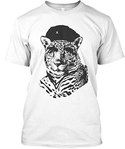 Che jaguara 3XL - White Tshirt - Hanes Tagless Tee from Dizzy Design Studio