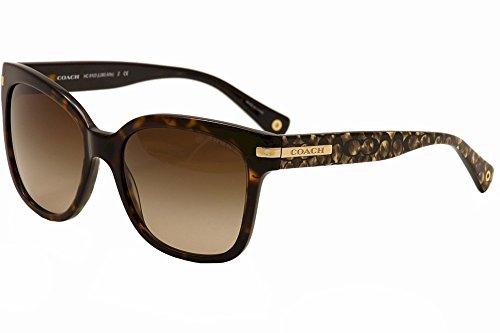 Coach Womens Sunglasses Tortoise Acetate