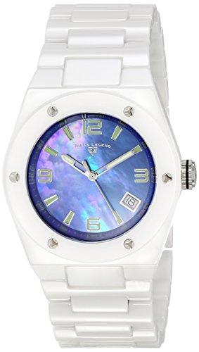Swiss Legend Throttle - Swiss Legend Women's 10054-WBLSA Throttle Analog Display Swiss Quartz White Watch