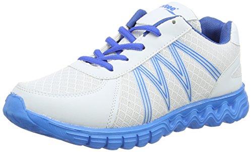 Softee Walkfit - Zapatillas para hombre, color blanco / azul