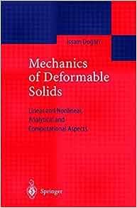 Introduction Mechanics Deformable Solids