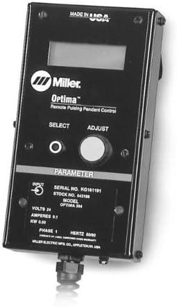 Miller Optima Pulse Control