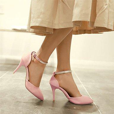 LvYuan Mujer-Tacón Stiletto-Otro-Sandalias-Informal Fiesta y Noche-Cuero Patentado-Rosa Rojo Blanco Red