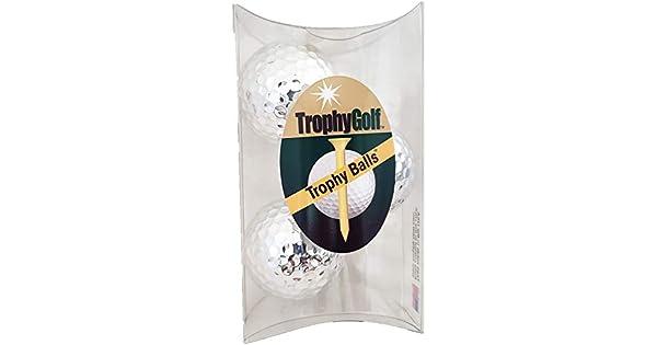 Amazon.com: Trofeo Golf 3 brillante bolas de golf, color ...