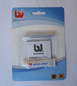 Amazon Com Bestway Vinyl Liner Pool Repair Patch Glue Kit
