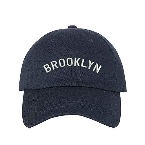 b9da509a104 Prfcto Lifestyle - Brooklyn Dad Hat - Baseball Cap - Unisex (Navy)