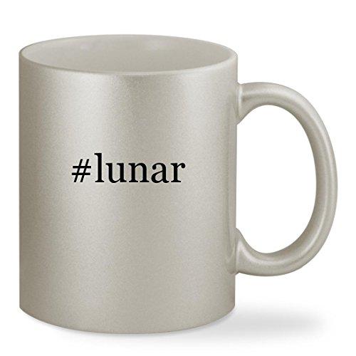 Price comparison product image #lunar - 11oz Hashtag Silver Sturdy Ceramic Coffee Cup Mug