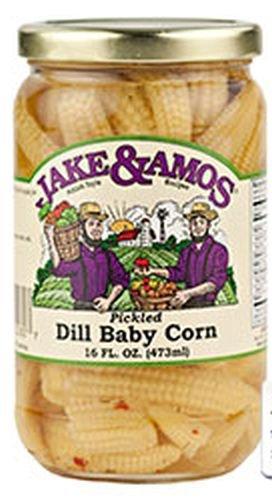Jake & Amos J&A Dill Baby Corn (Three Pack)