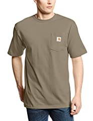 Durable and long-lasting comfort. The legendary K87 T-shirt is rugged enough for days on the job, but ready for your well-deserved days off. It's built with a heavyweight fabric that won't bust at the seams like those threadbare value-pack ty...