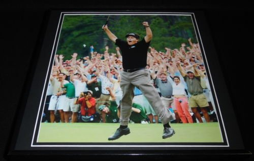 Phil Mickelson 2004 Masters Framed 12x12 Poster Photo