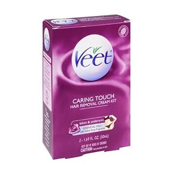 Amazon.com: Veet Caring Touch Bikin y axilas depilación ...