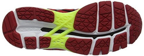 black Homme Pepper flash Running Chaussures De Asics Yellow Kayano red Rouge 22 zwXqxAx7