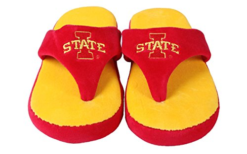 College NCAA OFFICIALLY Flop State Comfy LICENSED Iowa Feet Cyclones Happy and Mens Womens AwgO4qHg