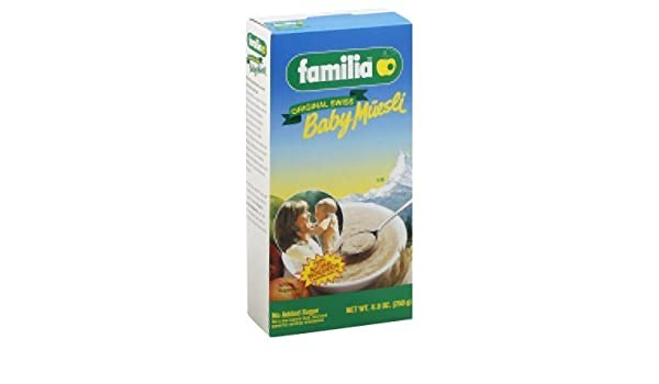Amazon.com: Familia Organic Muesli Baby Cereal, 8.8 Ounce -- 12 per case. by Familia: