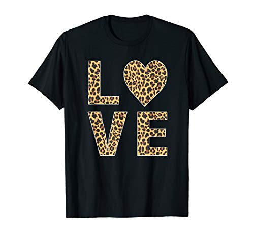Leopard Skin Love, Vintage Tee Shirt For Women Men (Cheetah Print Hoodie)