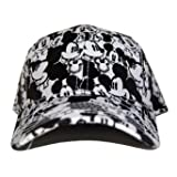 Disney Mickey Mouse Cap Monogram - White / Black Youth