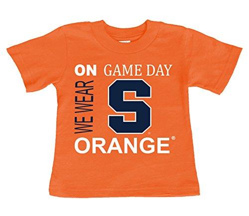 国内最安値! Syracuseオレンジon Game Game Dayベビー 18/幼児用Tシャツ 18 months months B071FW7ZM8, 色見本のG&E:80178d3d --- a0267596.xsph.ru