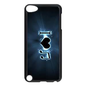 Custom Music Back Cover Case for ipod Touch 5 JNIPOD5-080