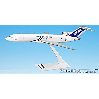 Kitty Hawk (03-Cur) 727-200 Airplane Miniature Model Plastic Snap-Fit 1:200 Part# ABO-72720H-039: Home Improvement