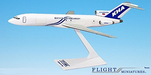 Kitty Hawk (03-Cur) 727-200 Airplane Miniature Model Plastic Snap-Fit 1:200 Part# ()