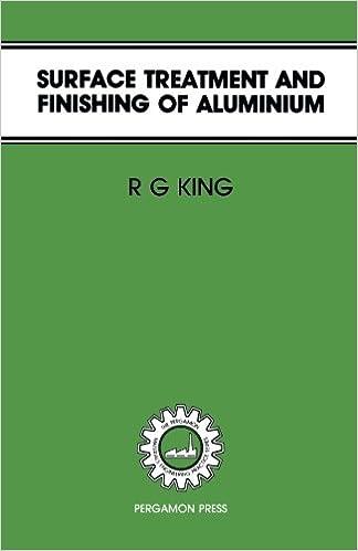 Amazon com: Surface Treatment & Finishing of Aluminium