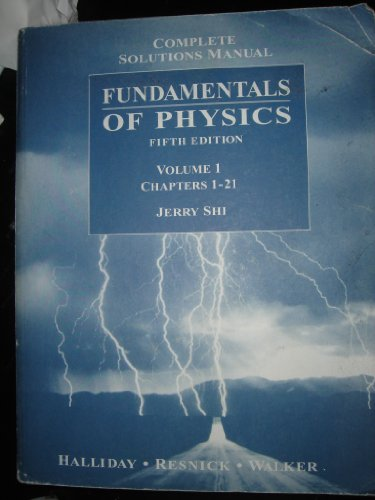 Fundamentals Of Physics Fifth Edition Book By David