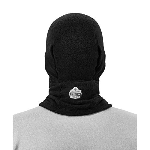 Ergodyne 6823 Balaclava Ski Wind-Resistant Face Mask, Black