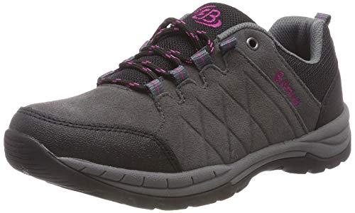 Femme Gris Brütting schwarz pink schwarz Marche pink Walker De Grau Nordique grau Chaussures HqqXRwT